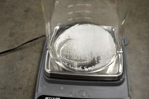 Weighing Glycerin & Steric