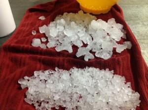 Rinsed salt