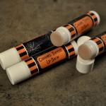 Caramel Toffee Flavored Lip Balm.
