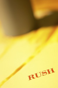 Sometimes we need to RUSH!
