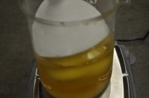 Adding Sugar/Salt Mixture to Oils