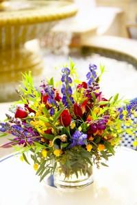 A mixed floral arrangement inspiration picture.