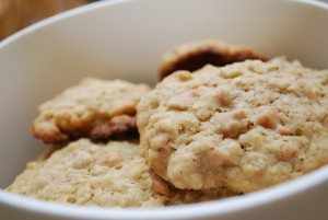 Oatmeal cookie inspiration. Photo credit to slgckgc. https://www.flickr.com/photos/slgc/3323283622/