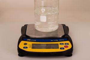 Weighing Water