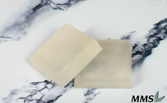 Finished bars of The Meadow soap.
