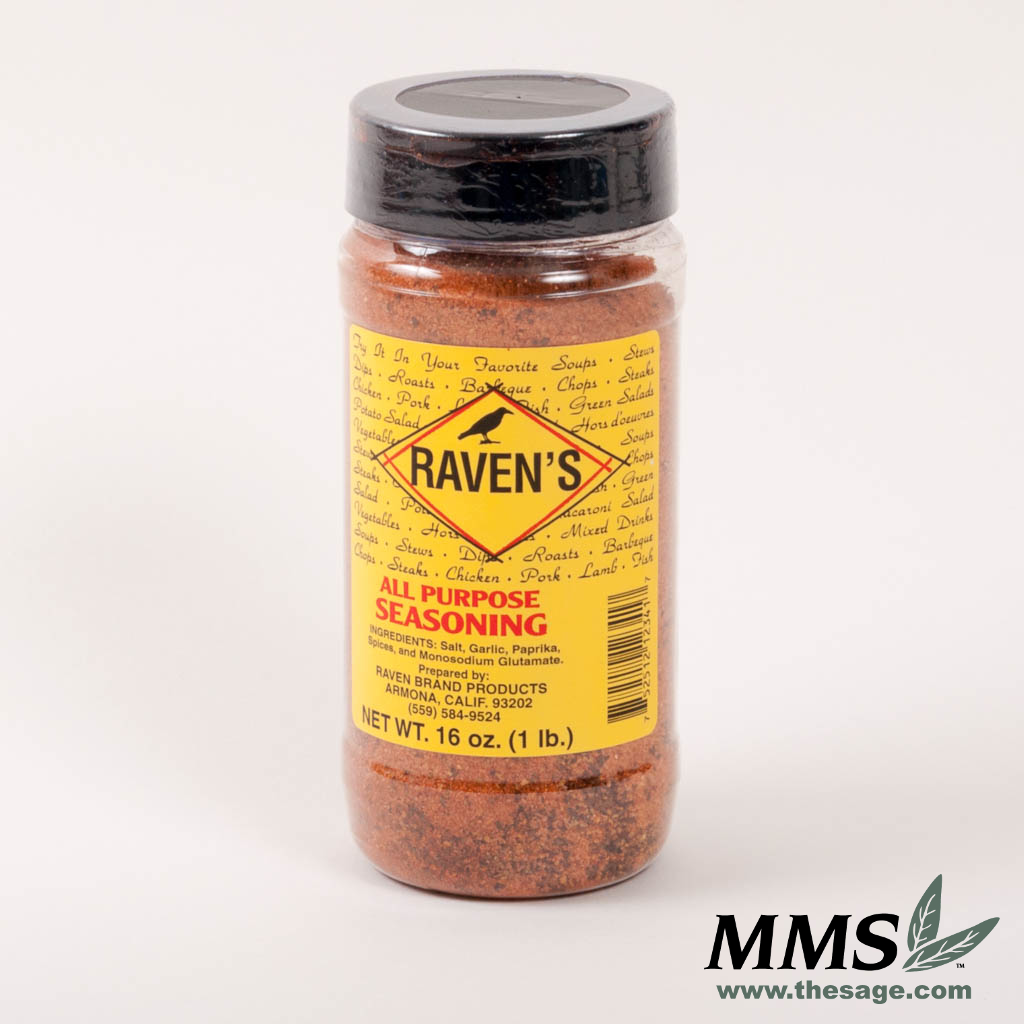 Raven's All Purpose Seasoning