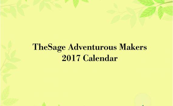 The 2017 Calendar Cover