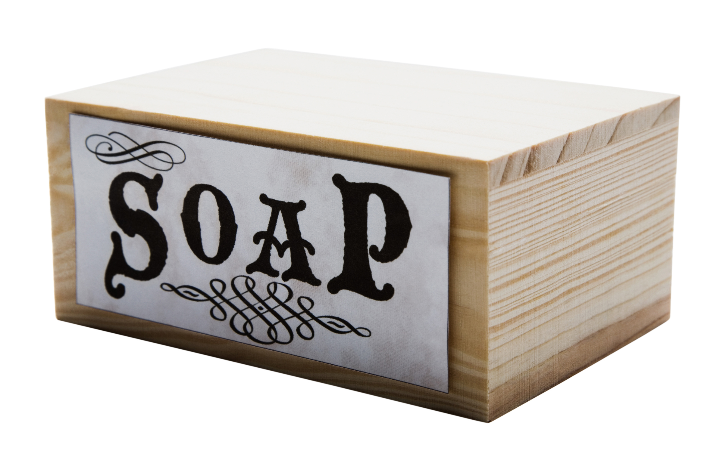 I've dusted off my soap box!