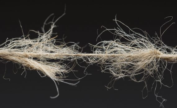Instability is like frayed rope.