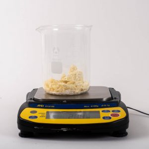 After weighing the Cocoa Butter.