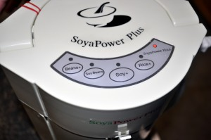 The SoyaPower Plus is now on.
