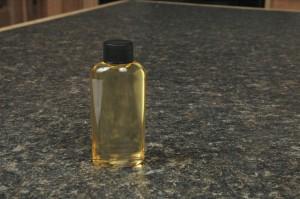 Shaken Blooming Bath Oil in a 2 oz Oval bottle, Size 20.