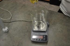 Weighing Polysorbate