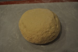 Dough ready to roll out