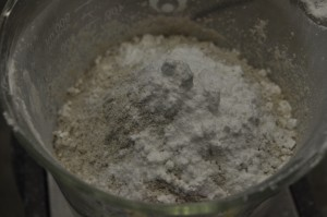 Weighing Clay and Allantoin