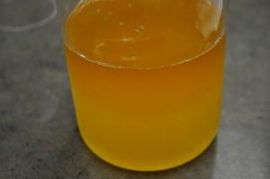 Adding Lye Solution to Oils