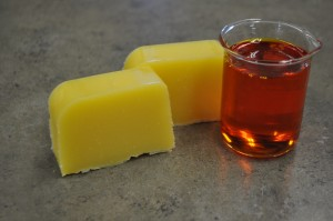 Finished Soap with Rose Hip Oil