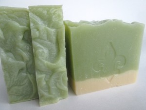 Genny's Green Tea and Silk Soap