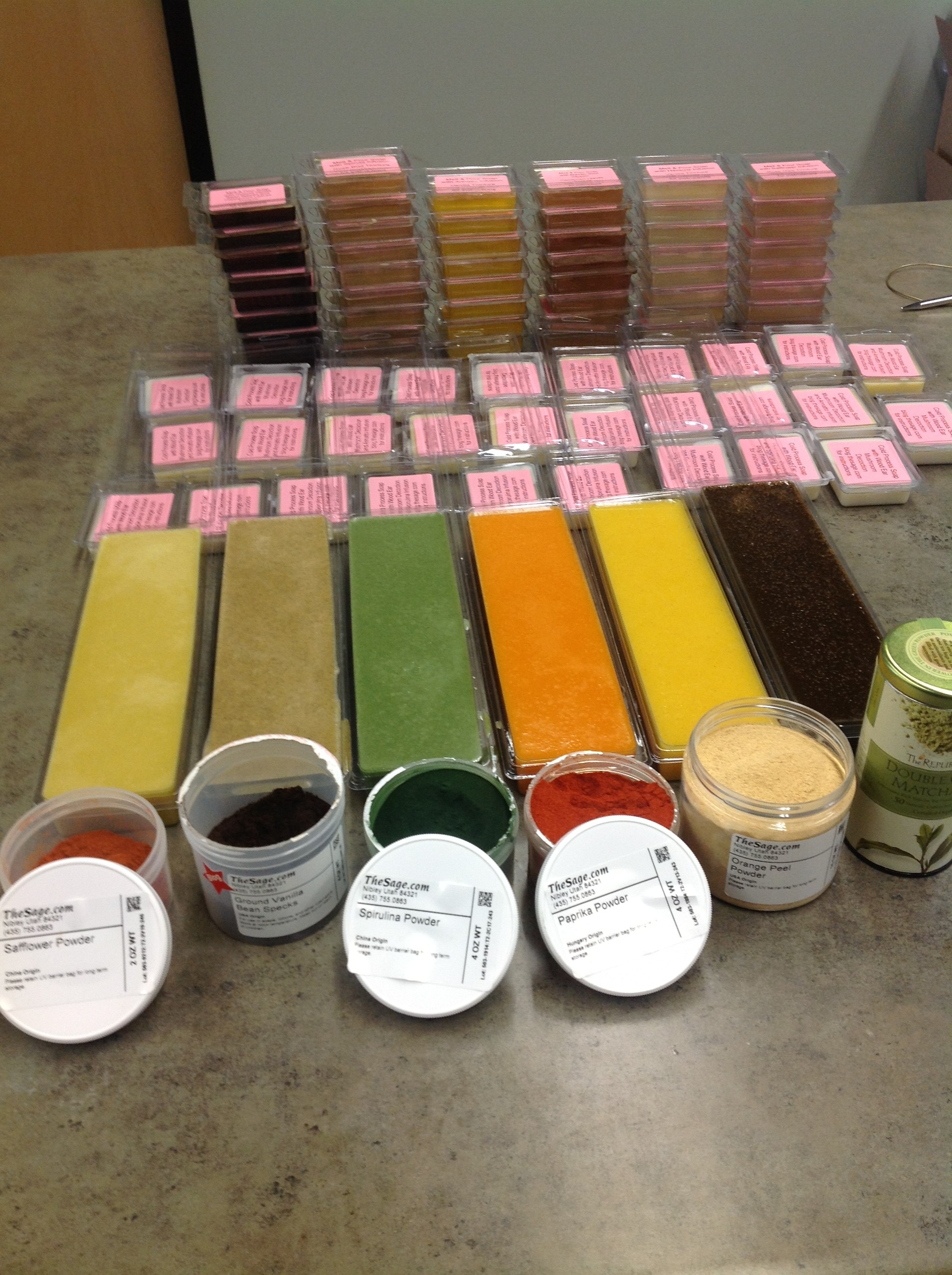 Infusions, Tinctures, and Powders in Soap