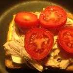 Adding Tomato Slices
