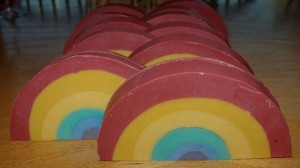 Rainbow Colors Soap