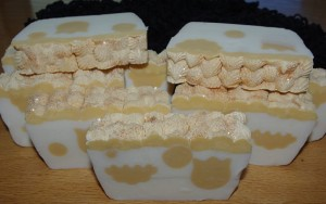 Tangerine and Tulips Soap