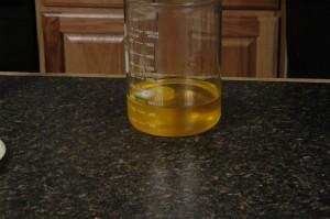 Melt your oils.