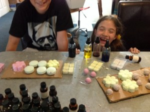 Making Bath Bombs